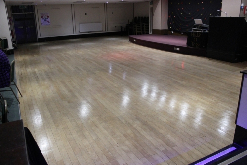 Our fabulous dance floor...